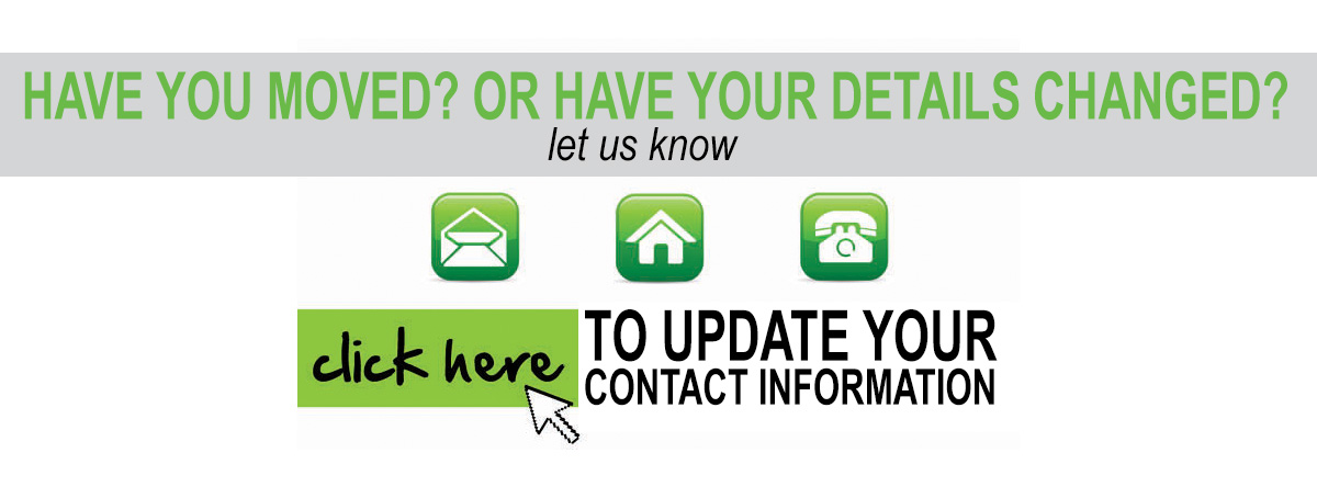 Update your details!