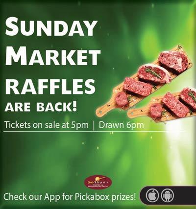 Club Macquarie 2020 July Sunday Market Raffles