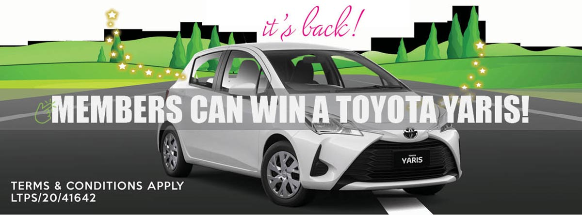 Win a Yaris Terms and Conditions