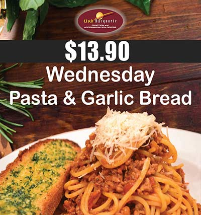 Wednesday Dinner Special