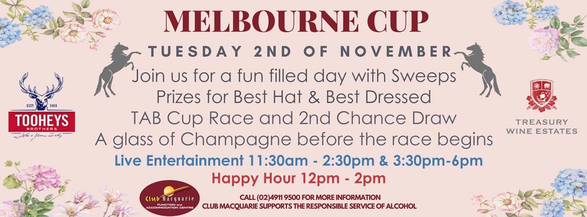 Club Macquarie Melbourne Cup 2021
